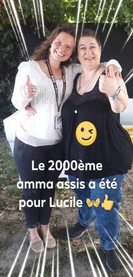 Le 2000ème Amma - Solidays 2018